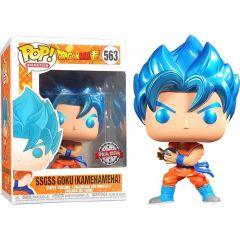 Dragon Ball Super POP! Animation Vinyl Figure SSGSS Goku (Kamehameha) 9 cm