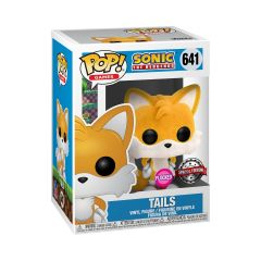Sonic the Hedgehog - Tails Flocked US #641 Exclusive Pop