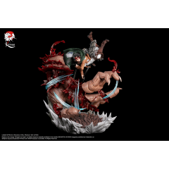 Attack on Titan - Levi versus Beast Titan Resin 1/6 Statue