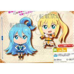 Aqua & Darkness mini figures