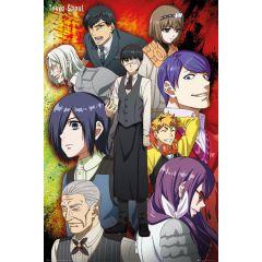 Tokyo Ghoul Groep Poster