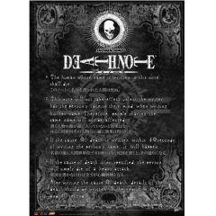 Death Note Regels Wallscroll