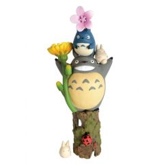 My Neighbor Totoro NOS-81 Stacking Chara Flowers & Totoro