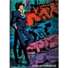 Cowboy Bebop - Spike Against Wall Wall Scroll