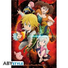 The Seven Deadly Sins Character Poster