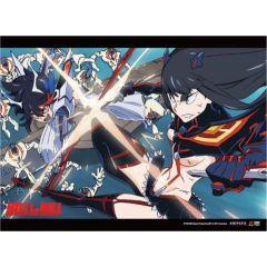 Kill la Kill - Ryuko Vs. Satsuki Wall Scroll