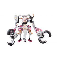 Nitro Super Sonic AGP Action Figure Super Sonico with Super Bike