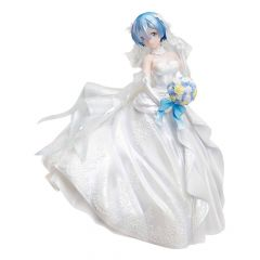 Re:ZERO -Starting Life in Another World- PVC Statue 1/7 Rem Wedding Dress Ver. 23 cm