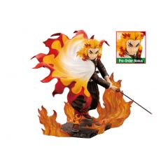 Demon Slayer: Kimetsu no Yaiba ARTFXJ Statue 1/8 Kyojuro Rengoku Bonus Edition 22 cm