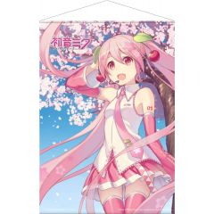 Hatsune Miku Wallscroll Cherry Blossom 50 x 70 cm