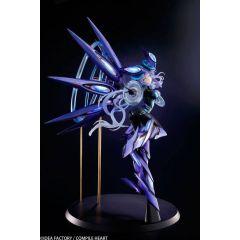 Megadimension Neptunia VII Statue 1/7 Next Purple Processor Unit Full Ver. 38 cm