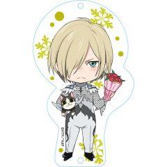 Nendoroid Plus Dress Up Acrylic Key Ring: YURI!!! On ICE (Yuri Plisetsky)