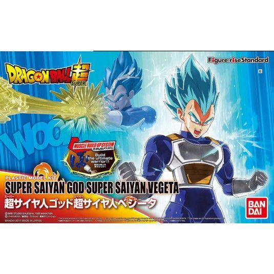 Figure Rise Super Saiyan God Vegeta Model Kit