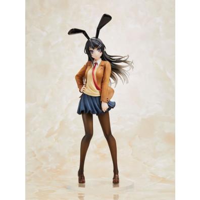 Seishun Buta Yarou wa Bunny Girl Senpai no Yume wo Minai - Sakurajima Mai - Coreful Figure - Uniform Bunny Ver.