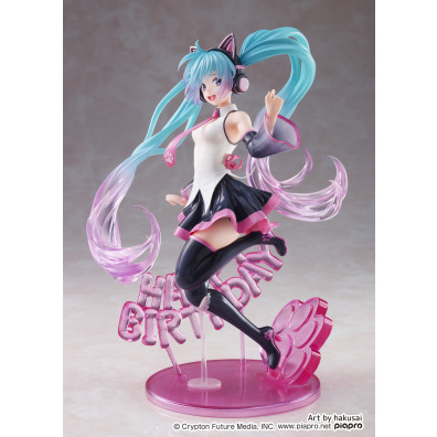 Vocaloid - Hatsune Miku - Artist MasterPiece - Birthday 2021, Happy Cat