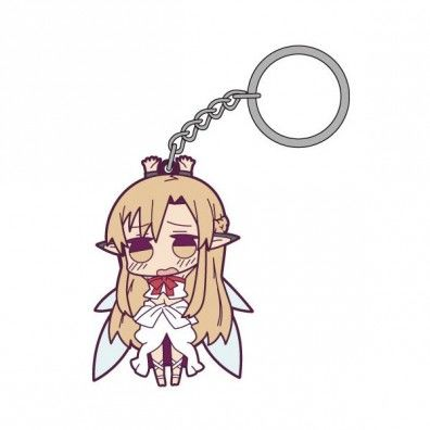 Asuna Tsumamare Rubberen Sleutelhanger 2
