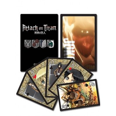 Attack on Titan Speelkaarten 1