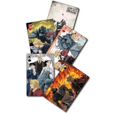FullMetal Alchemist Brotherhood Speelkaarten