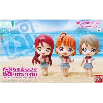Chika/Riko/You Petiture-rise Model Kit