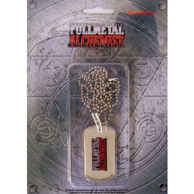 Full Metal Alchemist Logo - Dog Tag ketting