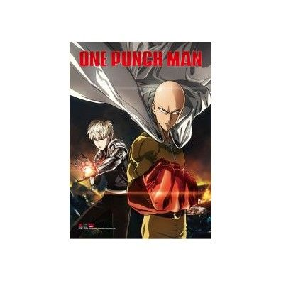 One-Punch Man - Genos & Saitama Key Art Wall Scroll