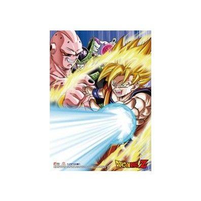 Dragon Ball Z - Goku & Arch-Enemies Wall Scroll