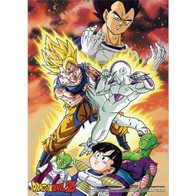Dragon Ball Z - Goku Vs. Frieza Premium Wallscroll