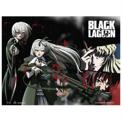 Black Lagoon - Hansel & Gretel, Balalaika Wall Scroll