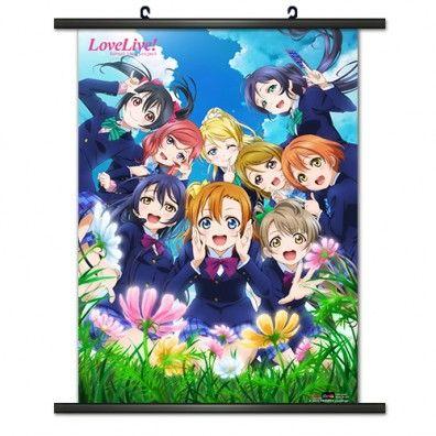 Love Live! School Idol Project Group Wallscroll 2