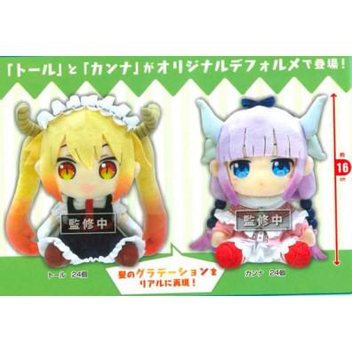 Kobayashi's Dragon Maid Knuffels - Kanna / Tohru