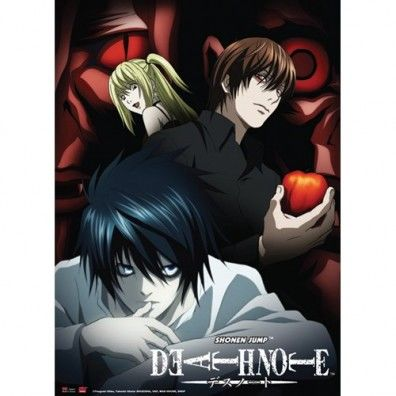 Death Note - Misa Light & L Wall Scroll