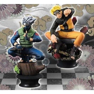 Naruto Shippuden: Chess Piece Collection- Naruto & Kakashi