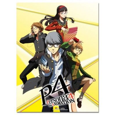 Persona 4 Group Wall Scroll