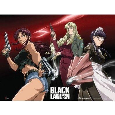 Black Lagoon - Revy, Balalaika & Roberta Wall Scroll