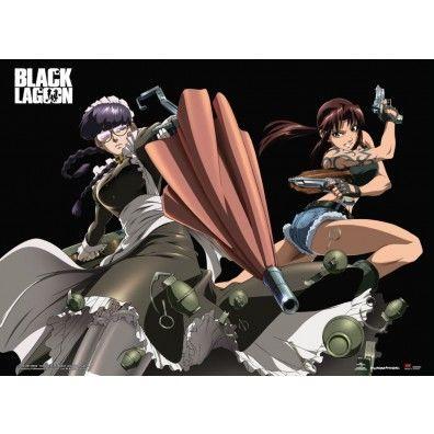 Black Lagoon - Revy & Roberta Wall Scroll