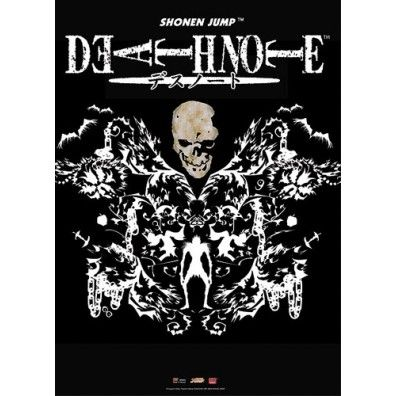 Death Note - Skull and Ryuk Design Wall Scroll