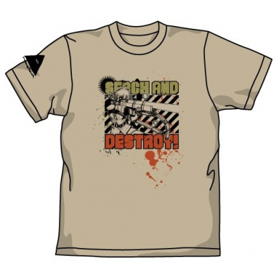 Hellsing T-shirt: Search and Destroy