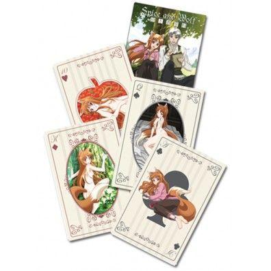 Spice and Wolf Speelkaarten