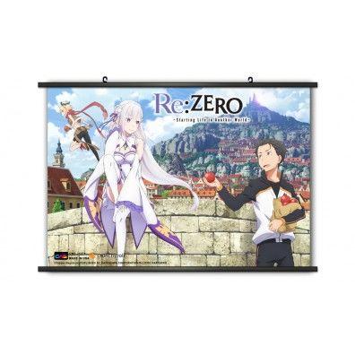 Re:Zero Starting Life in Another World Subaru & Emila Wallscroll