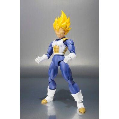 S.H. Figuarts Action Figure Super Saiyan Vegeta Premium Color