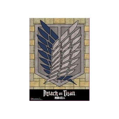 Attack on Titan - Survey Corp Crest Wall Scroll