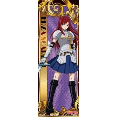 Fairy Tail - Erza Wall Scroll (Groot)