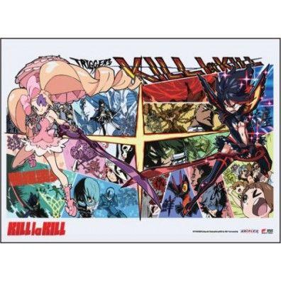 Kill la Kill - Ryuko Vs. Nui Wall Scroll