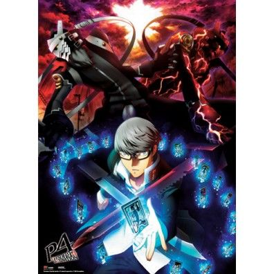 Persona 4 - Yu Narukami, Izanagi & Magatsu Wall Scroll