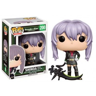 Seraph of the End: Shinoa (With Scythe) POP Vinyl Figuur
