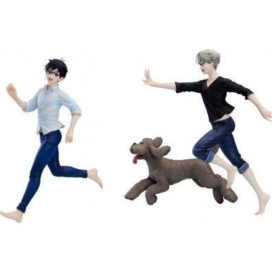 Yuri!!! on Ice PVC Statues 1/8 Yuri, Victor & Makkachin 10 - 23 cm