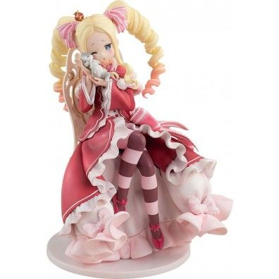 Re:ZERO -Starting Life in Another World- PVC Statue 1/7 Beatrice Tea Party Ver. 19 cm