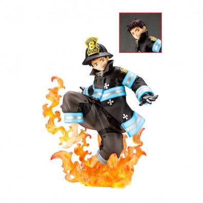 Fire Force ARTFXJ Statue 1/8 Shinra Kusakabe Glows in the Dark Bonus Edition 21 cm