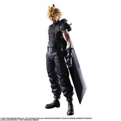 Final Fantasy VII Remake Play Arts Kai Action Figure Cloud Strife Ver. 2 27 cm