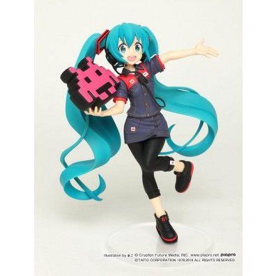 Vocaloid PVC Statue Hatsune Miku Taito Uniform Version 2 18 cm